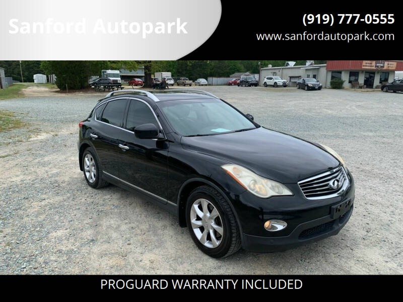 2010 Infiniti EX35 for sale at Sanford Autopark in Sanford NC