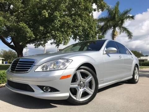 2007 Mercedes-Benz S-Class for sale at DS Motors in Boca Raton FL