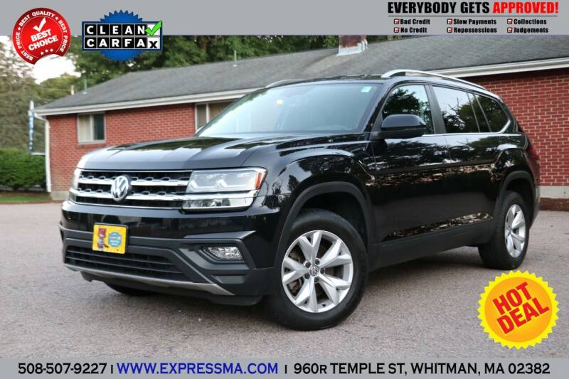 2018 Volkswagen Atlas for sale at Auto Sales Express in Whitman MA
