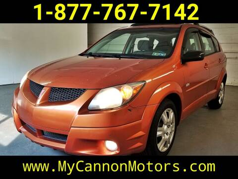 2004 Pontiac Vibe for sale at Cannon Motors in Silverdale PA