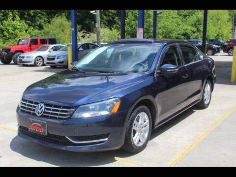 2012 Volkswagen Passat for sale at Inline Auto Sales in Fuquay Varina NC