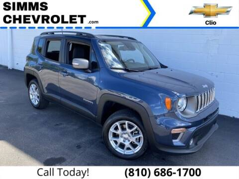 2021 Jeep Renegade for sale at Aaron Adams @ Simms Chevrolet in Clio MI