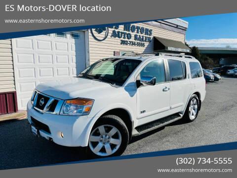 2008 Nissan Armada for sale at ES Motors-DAGSBORO location - Coming Soon in Dagsboro DE