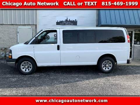 2014 Chevrolet Express Passenger for sale at Chicago Auto Network in Mokena IL