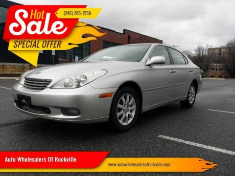 2002 Lexus ES 300 for sale at Auto Wholesalers Of Rockville in Rockville MD