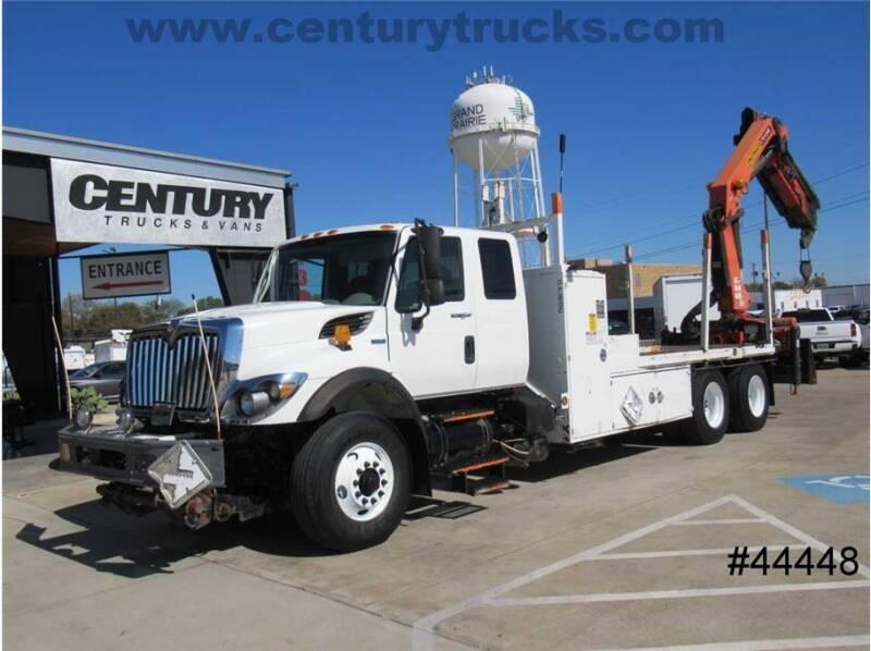2008 International WorkStar 7500 for sale at CENTURY TRUCKS & VANS in Grand Prairie TX