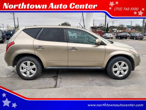 2006 Nissan Murano for sale at Northtown Auto Center in Houston TX