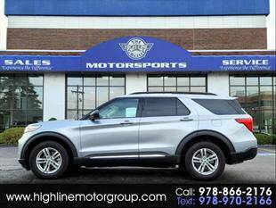 2020 Ford Explorer for sale at Highline Group Motorsports in Lowell MA