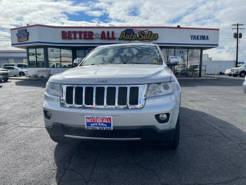 2011 Jeep Grand Cherokee for sale at Better All Auto Sales in Yakima WA