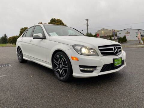 2014 Mercedes-Benz C-Class for sale at Sunset Auto Wholesale in Tacoma WA