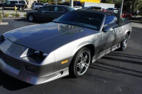 1992 Chevrolet Camaro for sale at Dream Machines USA in Lantana FL