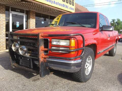 1995 GMC Sierra 1500 for sale at Best Buy Autos in Mobile AL