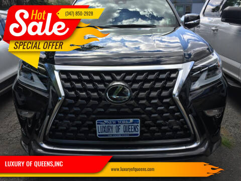 2021 Lexus GX 460 for sale at LUXURY OF QUEENS,INC in Long Island City NY
