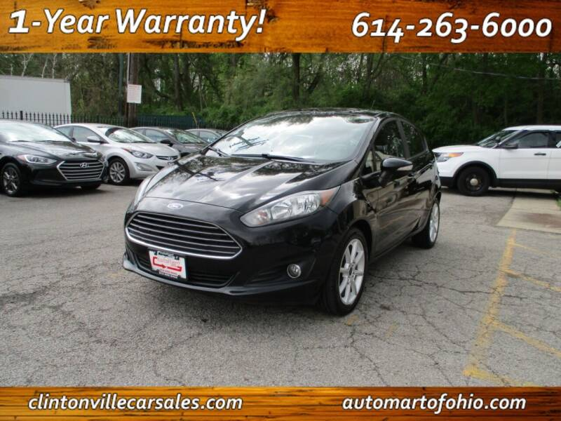 2016 Ford Fiesta for sale at Clintonville Car Sales - AutoMart of Ohio in Columbus OH