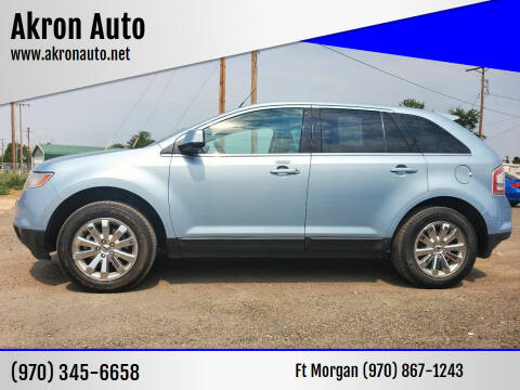 2008 Ford Edge for sale at Akron Auto in Akron CO