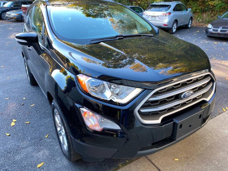 2019 Ford EcoSport for sale at WHARTON'S AUTO SVC & USED CARS in Wheeling WV
