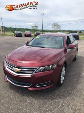 2016 Chevrolet Impala for sale at Carmans Used Cars & Trucks in Jackson OH