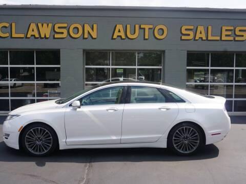 2015 Lincoln MKZ for sale at Clawson Auto Sales in Clawson MI