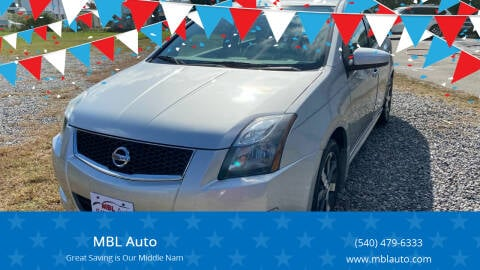 2012 Nissan Sentra for sale at MBL Auto Woodford in Woodford VA
