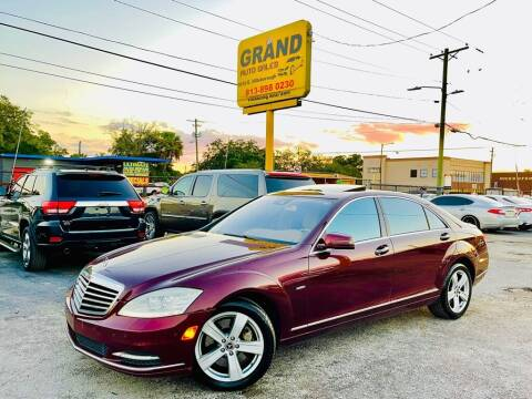 2012 Mercedes-Benz S-Class for sale at Grand Auto Sales in Tampa FL