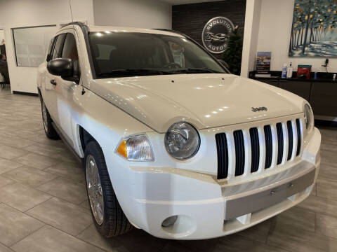 2008 Jeep Compass for sale at Evolution Autos in Whiteland IN