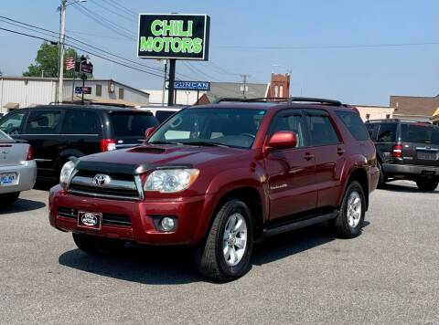 2006 Toyota 4Runner for sale at CHILI MOTORS in Mayfield KY