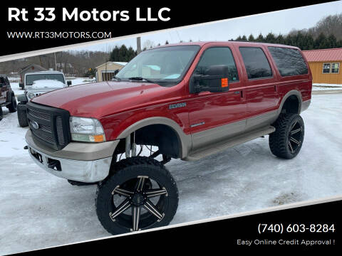 2001 Ford Excursion for sale at Rt 33 Motors LLC in Rockbridge OH