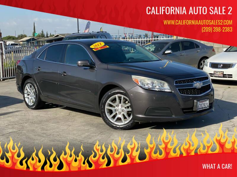2013 Chevrolet Malibu for sale at CALIFORNIA AUTO SALE 2 in Livingston CA