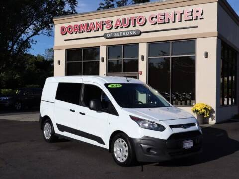 2016 Ford Transit Connect Cargo for sale at DORMANS AUTO CENTER OF SEEKONK in Seekonk MA