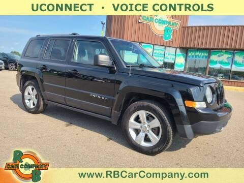 2016 Jeep Patriot for sale at R & B Car Co in Warsaw IN