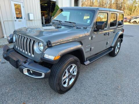 2020 Jeep Wrangler Unlimited for sale at Medway Imports in Medway MA