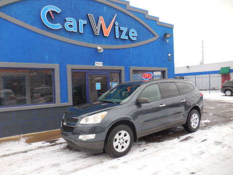2012 Chevrolet Traverse for sale at Carwize in Detroit MI
