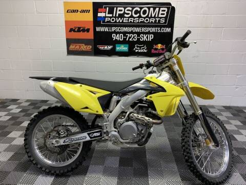 2015 Suzuki RM-Z450 for sale at Lipscomb Powersports in Wichita Falls TX