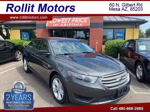 2017 Ford Taurus for sale at Rollit Motors in Mesa AZ