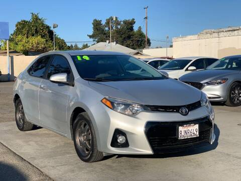 2014 Toyota Corolla for sale at H & K Auto Sales & Leasing in San Jose CA