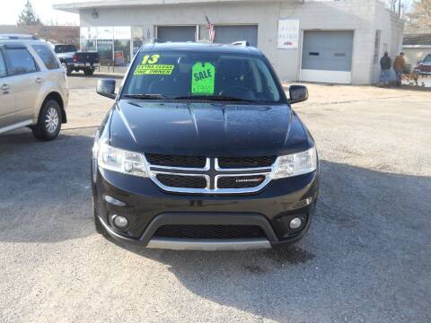 2013 Dodge Journey for sale at Shaw Motor Sales in Kalkaska MI