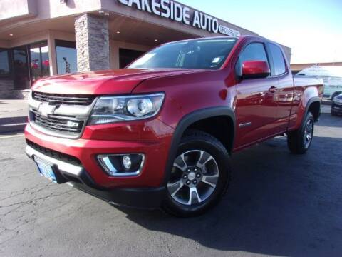 2016 Chevrolet Colorado for sale at Lakeside Auto Brokers Inc. in Colorado Springs CO