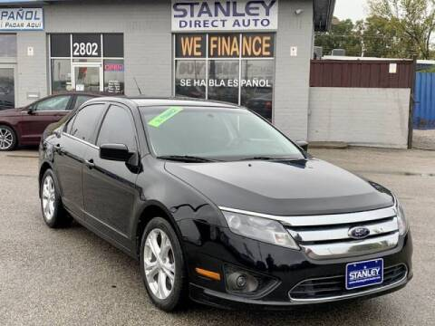 2012 Ford Fusion for sale at Stanley Automotive Finance Enterprise - STANLEY DIRECT AUTO in Mesquite TX