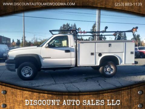 2003 Chevrolet Silverado 2500HD for sale at DISCOUNT AUTO SALES LLC in Lakewood WA