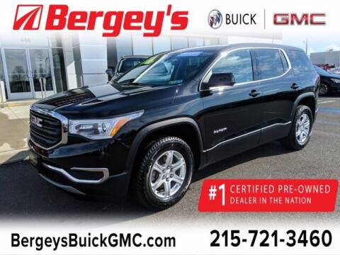 2018 GMC Acadia for sale at Bergey's Buick GMC in Souderton PA