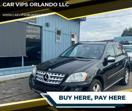 2009 Mercedes-Benz M-Class for sale at CAR VIPS ORLANDO LLC in Orlando FL