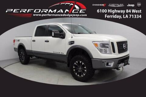 2017 Nissan Titan XD for sale at Auto Group South - Performance Dodge Chrysler Jeep in Ferriday LA