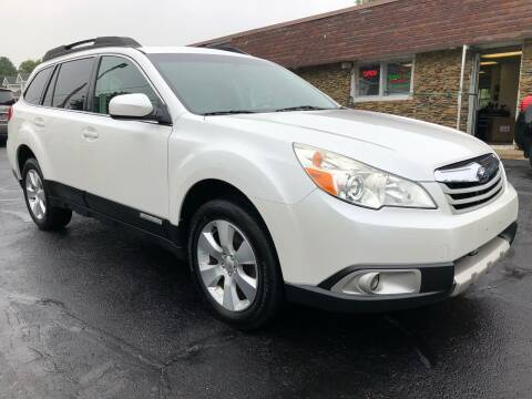 2011 Subaru Outback for sale at Approved Motors in Dillonvale OH