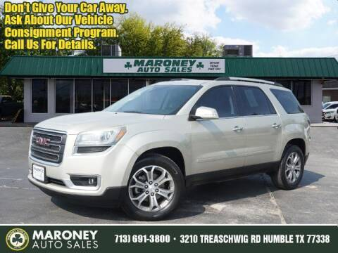 2016 GMC Acadia for sale at Maroney Auto Sales in Humble TX