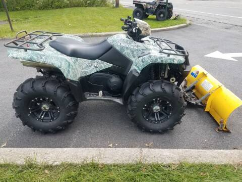 2008 Suzuki KingQuad 750 for sale at WILKINS MOTORSPORTS in Brewster NY