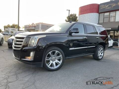 2018 Cadillac Escalade for sale at BLACK LABEL AUTO FIRM in Riverside CA