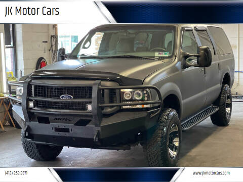 2002 Ford Excursion for sale at JK Motor Cars in Pittsburgh PA