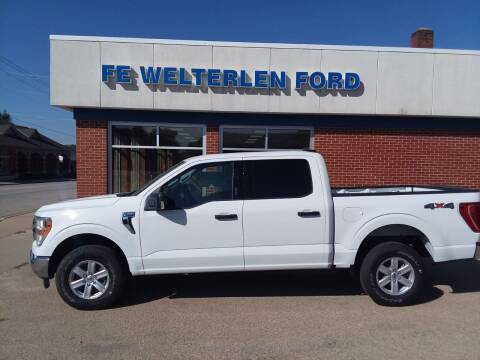 2021 Ford F-150 for sale at Welterlen Motors in Edgewood IA