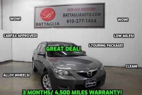 2008 Mazda MAZDA3 for sale at Battaglia Auto Sales in Plymouth Meeting PA