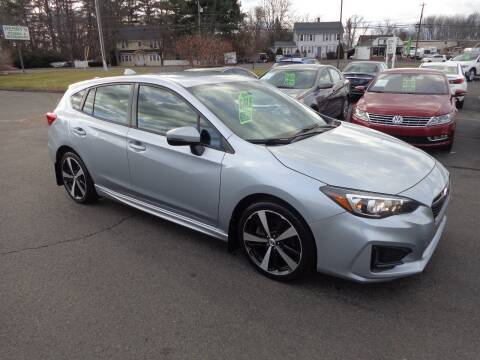 2017 Subaru Impreza for sale at BETTER BUYS AUTO INC in East Windsor CT